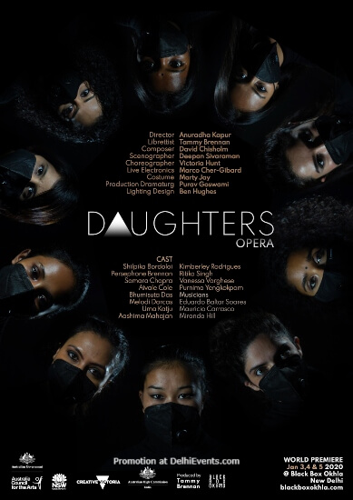 Daughters Opera Indo Australian Production Sirifort Auditorium Creative