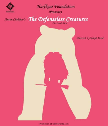 Defenseless Creatures Two Comedy Plays Creative