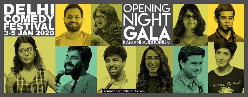 Delhi Comedy Festival Kamani Auditorium Mandi House Creative