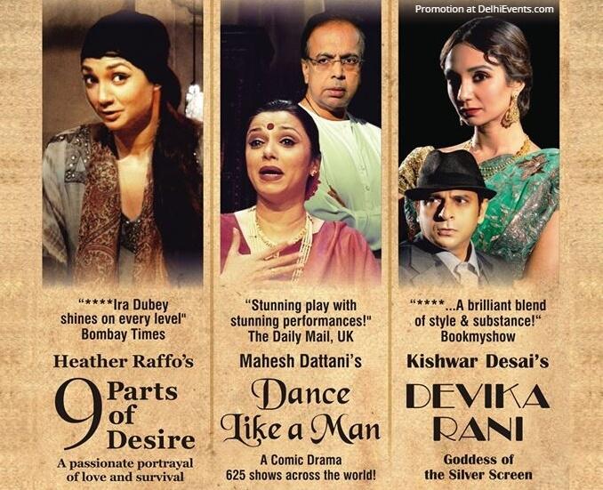 Primetime TheatreCo their 3 Popular Award Winning Plays Kamani Auditorium Mandi House Creative