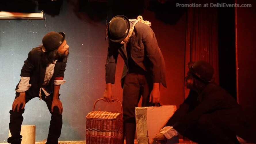Pratyancha Chhaon Theatre Waiting Godot Play Still