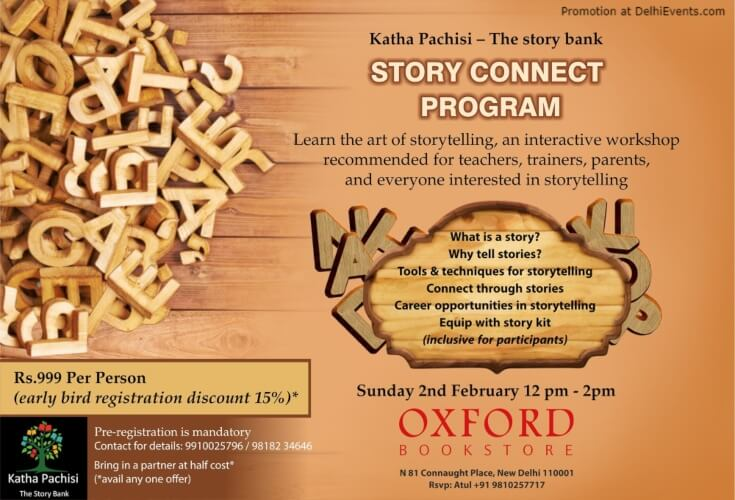 Learn Art Storytelling Workshop Oxford Bookstore CP Creative