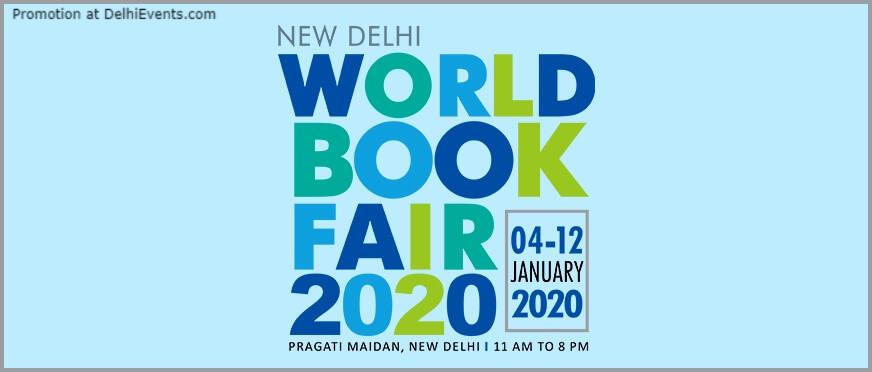 World Book Fair 2020 Pragati Maidan Creative