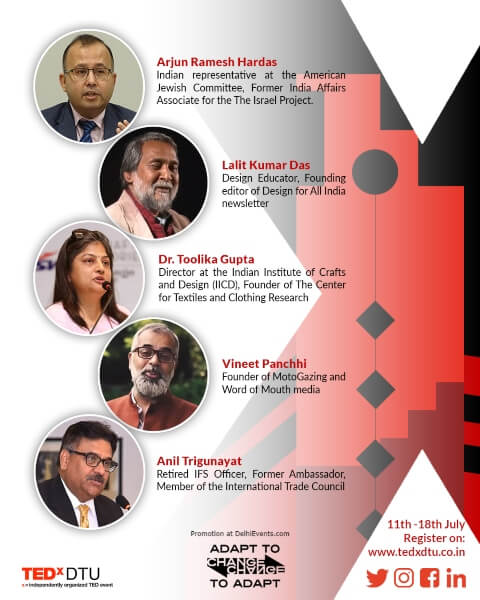 TEDxDTU Speakers Creative