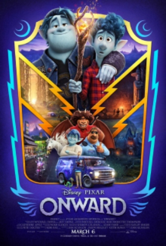 onward Animation Comedy Film Poster