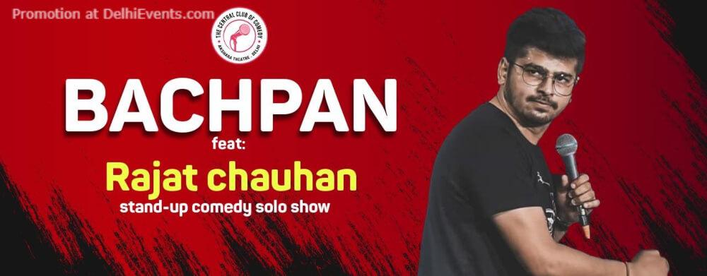 Bachpan Standup Comedy Show Rajat Chauhan Creative