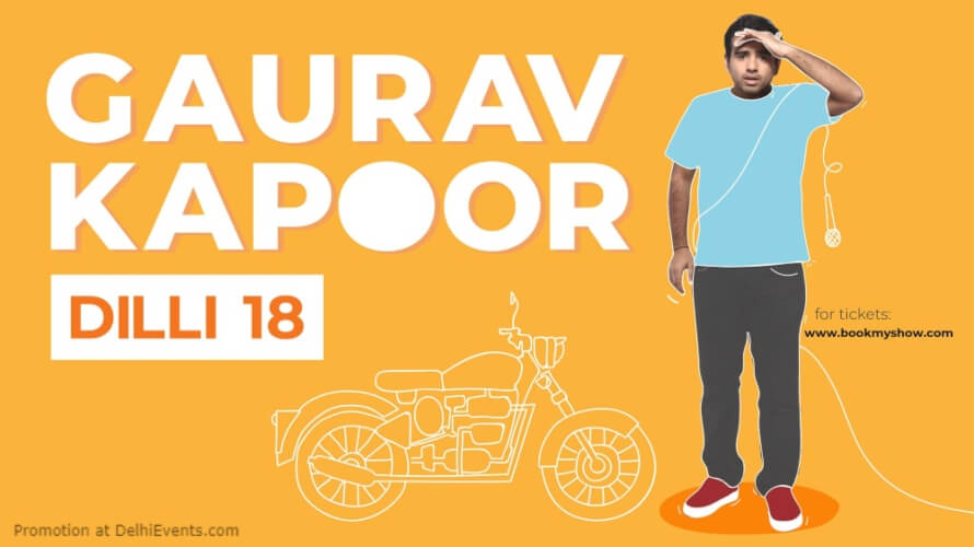 Dilli18 Standup Comedy Show Gaurav Kapoor Imperfecto Patio Gurugram Creative