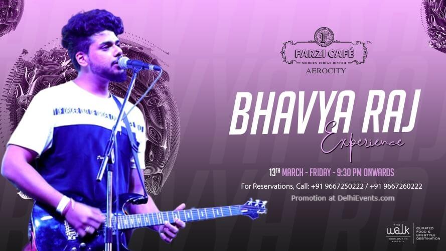 Friday Night Bhavya Raj Farzi Cafe Aerocity Creative