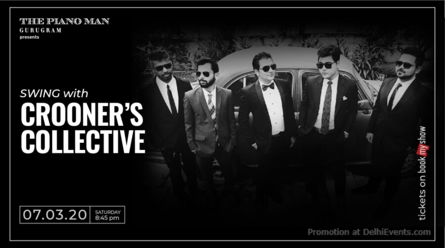 Crooners Collective Piano Man Gurugram Creative