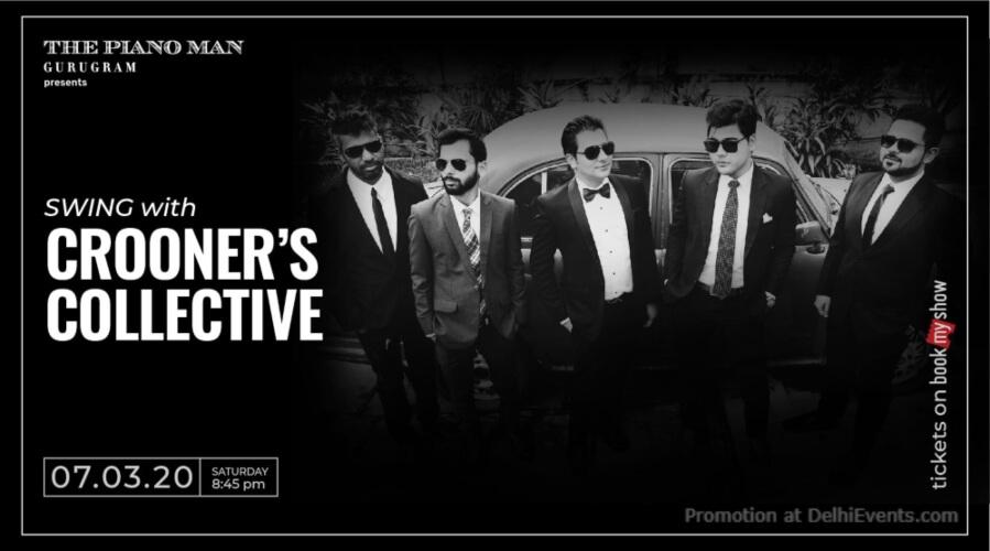 Crooners Collective Piano Man Gurugram Creative