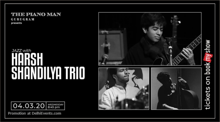 Harsh Shandilya Trio Piano Man Gurugram Creative