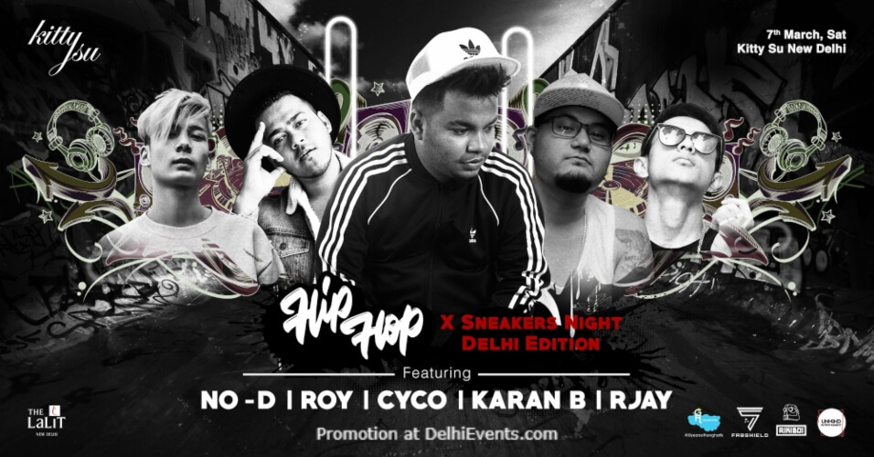 Hiphop X Sneakers Edition tour Kitty Su Lalit Connaught Place Creative