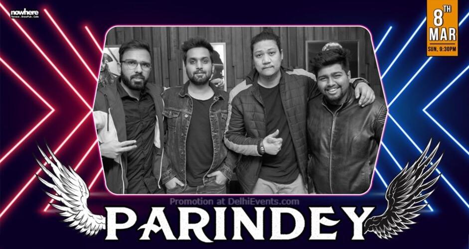 IndiePop Band Parindey Nowhere Terrace BrewPub Cafe Gurugram Creative