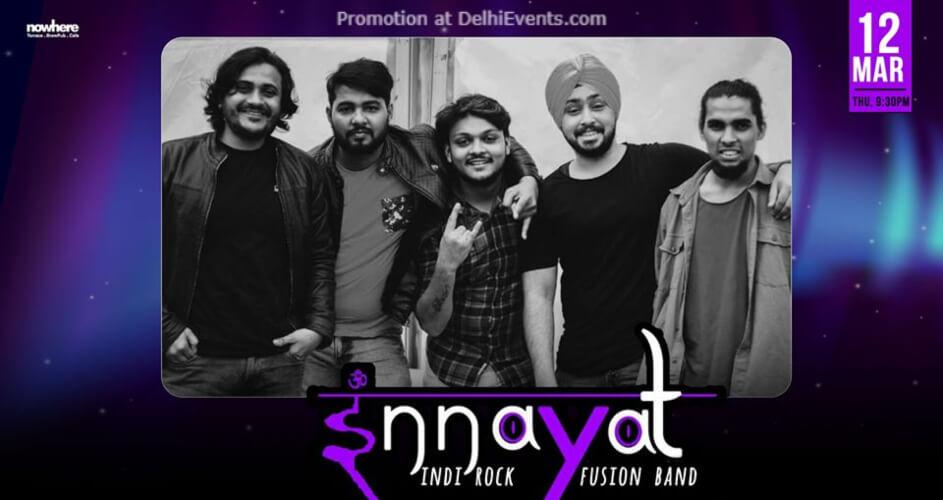 Innayat Band Nowhere Terrace BrewPub Cafe Gurugram Creative