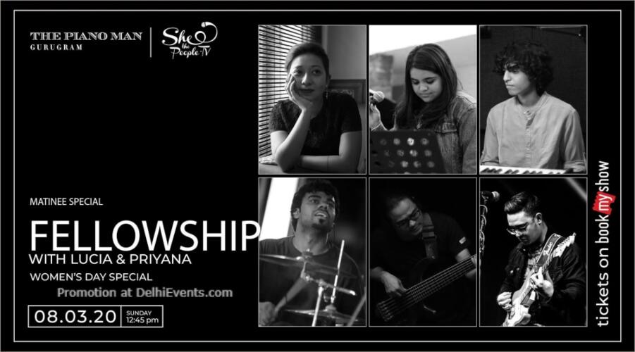 Fellowship Lucia Priyana Matinee Special Piano Man Gurugram Creative