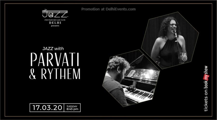 Parvati Rythem Piano Man Jazz Club Safdarjung Enclave Creative