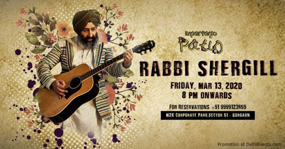 Rabbi Shergill Imperfecto Patio Gurugram Creative