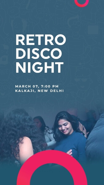 Retro Disco Night Kalkaji Creative