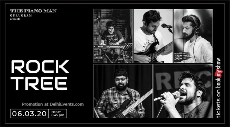 Rock Tree Piano Man Gurugram Creative