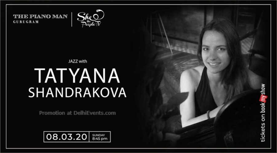 Womens Day Special Tatyana Shandrakova Piano Man Gurugram Creative