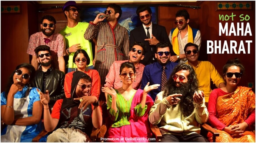Not So Mahabharat Play Akshara Theatre Baba Kharak Singh Marg Creative