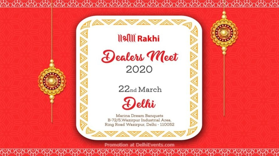 Dealers Meet Shree Rakhi Marina Dreams Banquets Wazirpur Creative