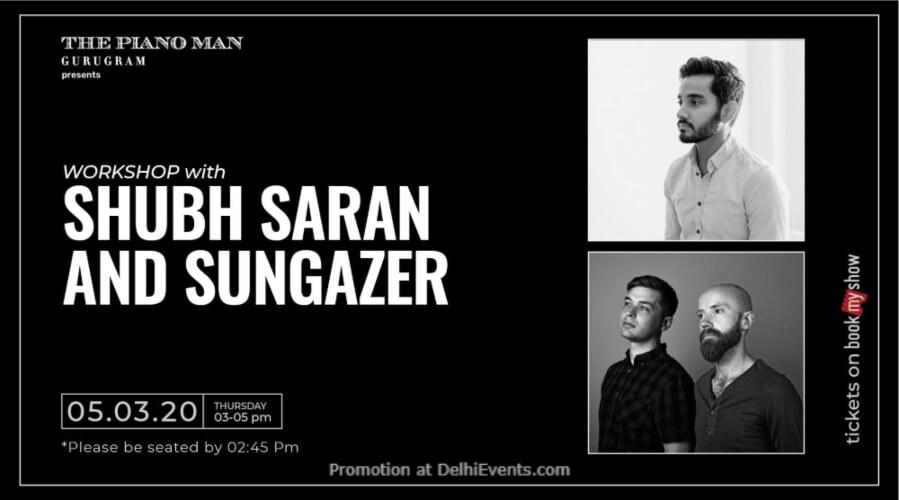 Workshop Shubh Saran Sungazer Piano Man Gurugram Creative