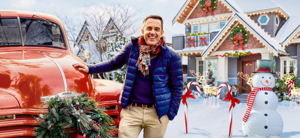 Holiday Home Makeover Mr Christmas Benjamin Bradley Netflix Still