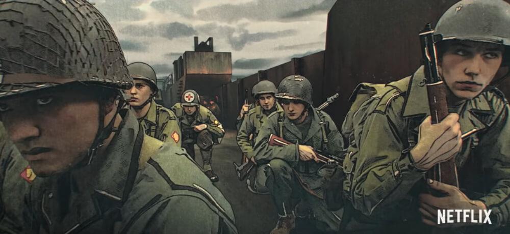 Liberator Bradley James Martin Sensmeier Jose Miguel Vasquez Netflix Creative