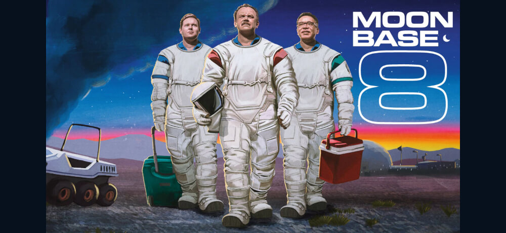 Moonbase 8 John C Reilly Tim Heidecker Fred Armisen Web Series Creative