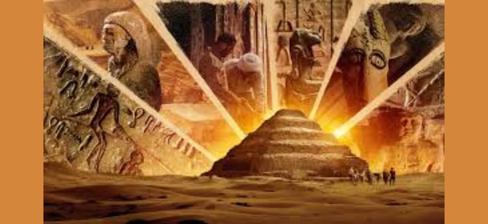 Secrets Saqqara tomb Documentary Netflix Creative