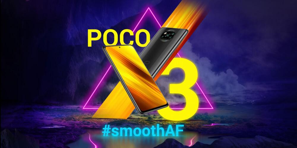 Poco X3 Phone Launch