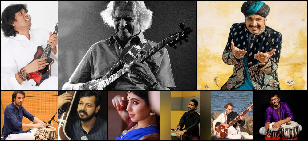75th Independence Day India Virtual Cultural Concert Artists