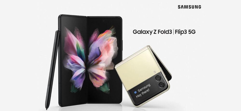Launch Samsung Galaxy Z Flip 3 Fold Creative