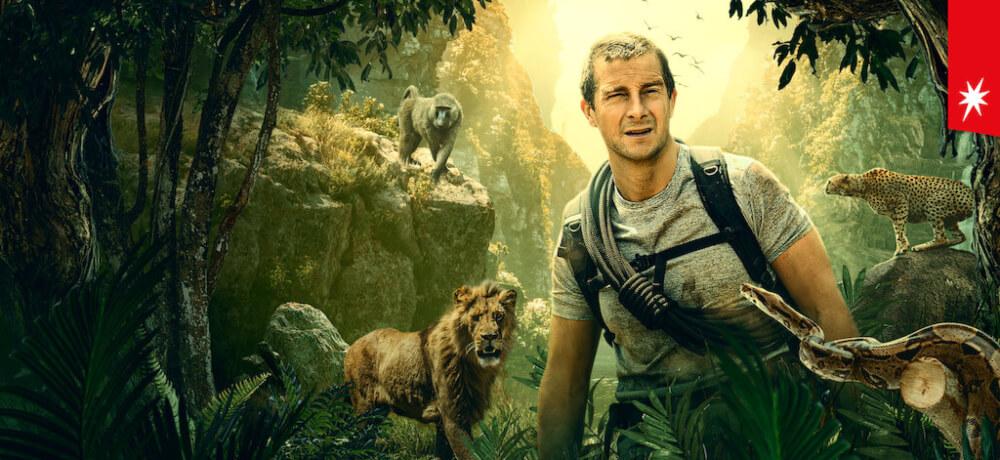 Animals Loose You Wild Movie Bear Grylls Netflix Still