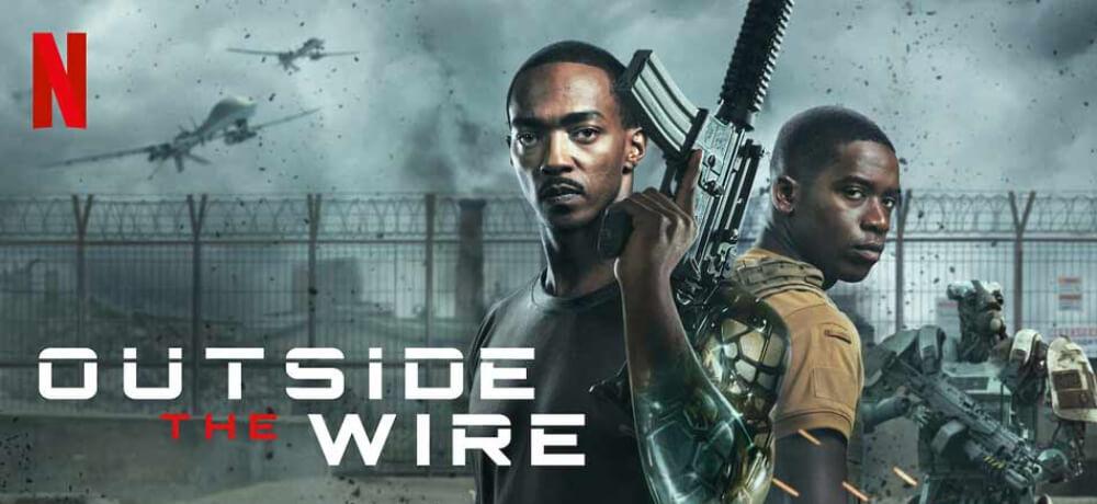 Outside Wire Anthony Mackie Damson Idris Emily Beecham Netflix Creative