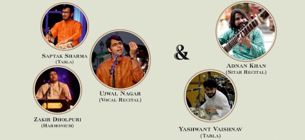 Swaradhyay Evening Hindustani Classical Music Pink Lotus Academia Greater KailashII Creative