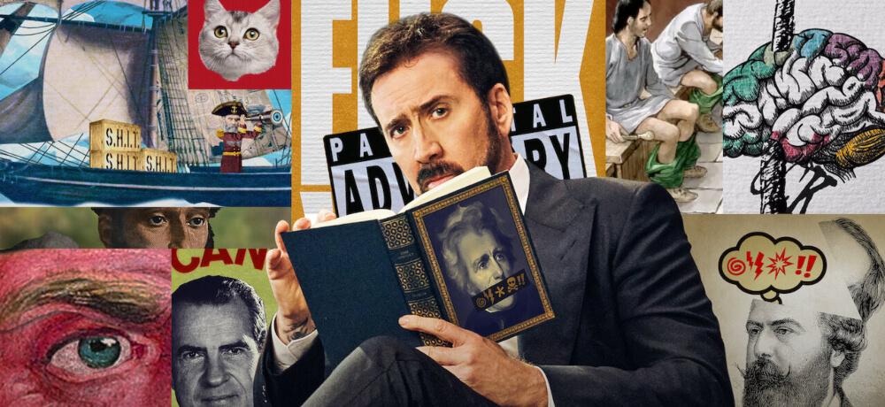 History Swear Words Documentary Series Nicolas Cage Netflix Creative