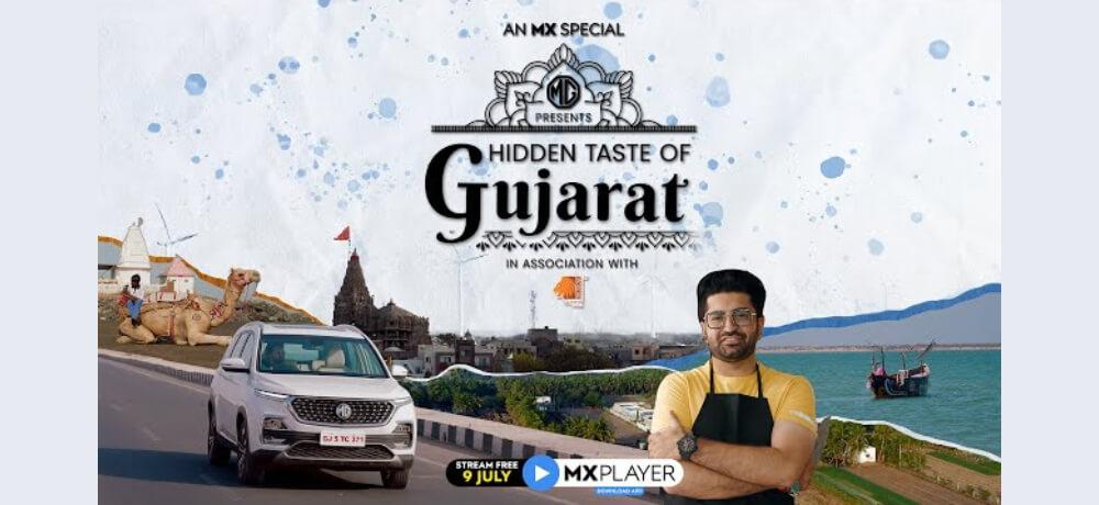 Hidden Taste Gujarat Smit Sagar MX Player Creative