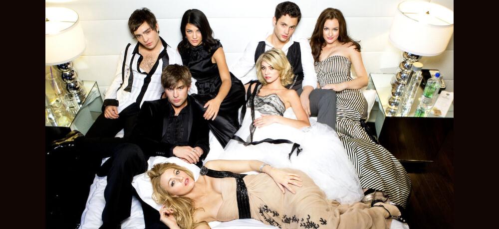Gossip Girl Blake lively Leighton Meester Penn Badgley Netflix Stil