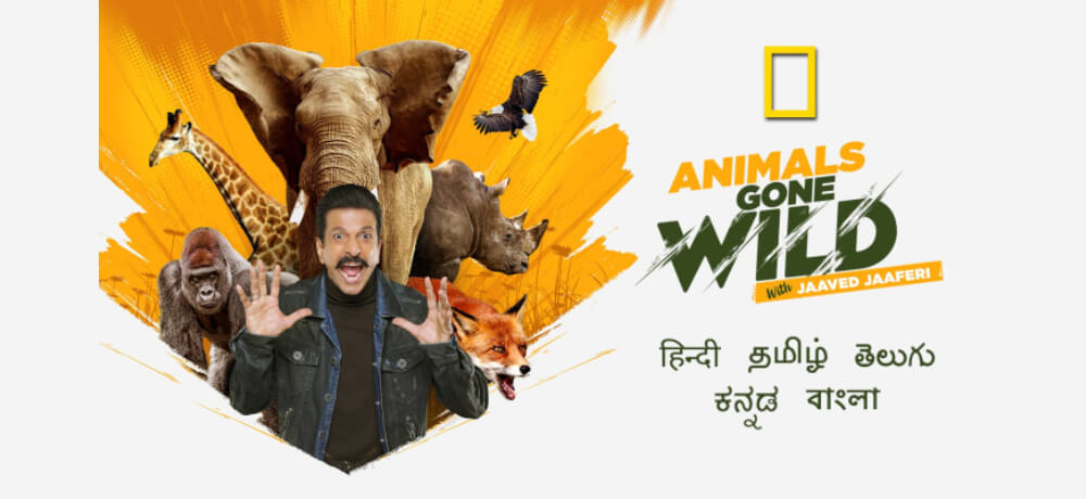National Geographic India Animals Gone Wild Jaaved Jaaferi Hotstar Creative