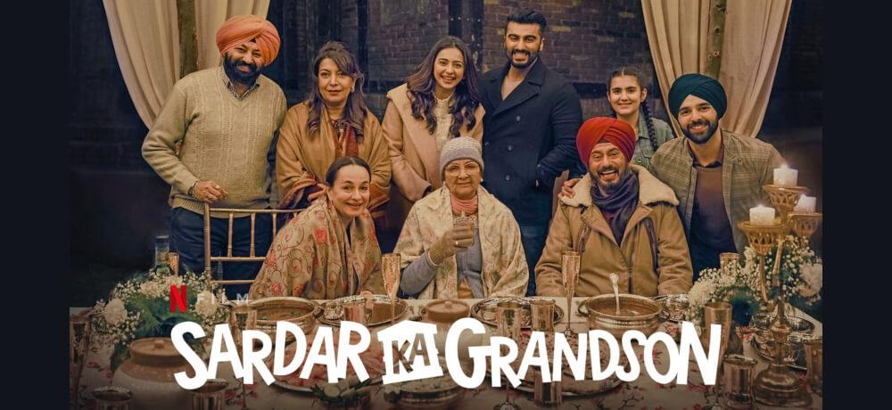 Sardar Ka Grandson Arjun Kapoor Neena Gupta Rakul Preet Singh Netflix Creative