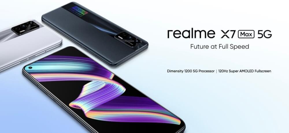 Launch Realme X7 Max 5G India Creative