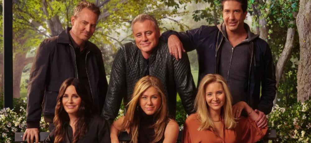 Friends Reunion Jennifer Aniston Courteney Cox David Schwimmer Still