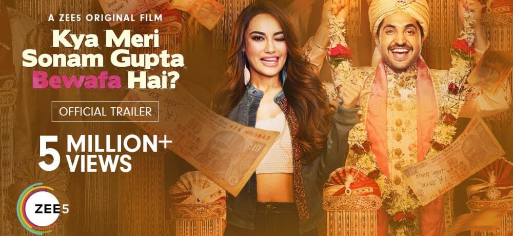 Kya Meri Sonam Gupta Bewafa Hai Jassie Gill Surbhi Jyoti Vijay Raaz Zee5 Creative