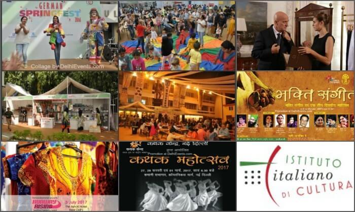 Chanakyapuri Events Collage