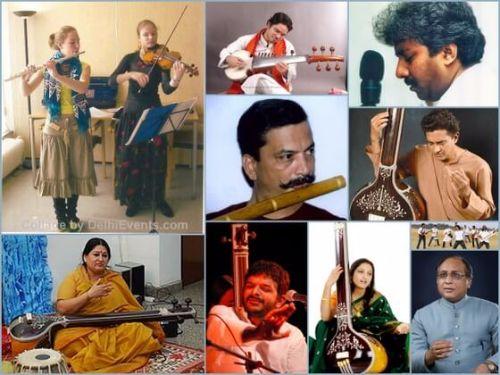 music delhi collage