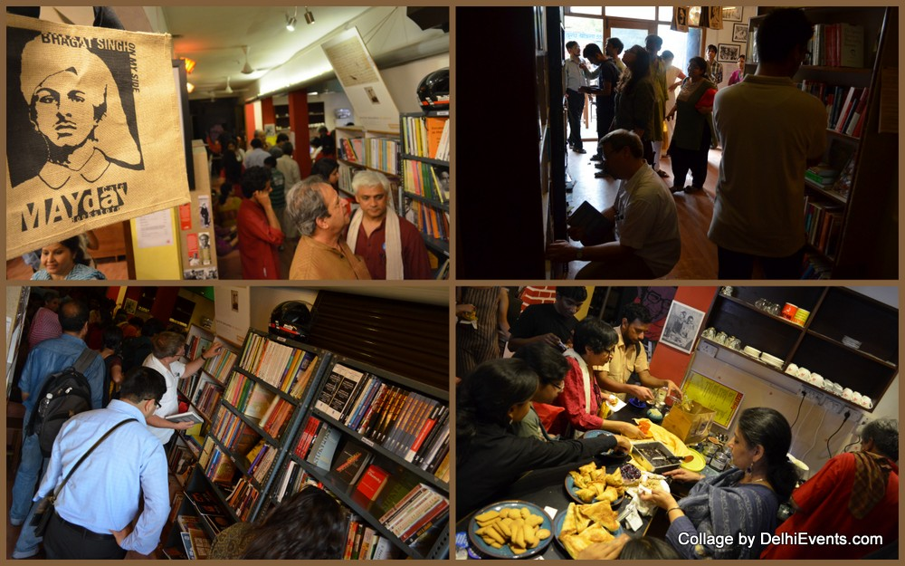 May Day Bookstore Cafe Studio Safdar Ranjit Nagar Shadikhampur
