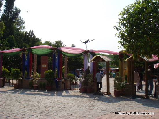 Dilli Haat INA Entry Gate
