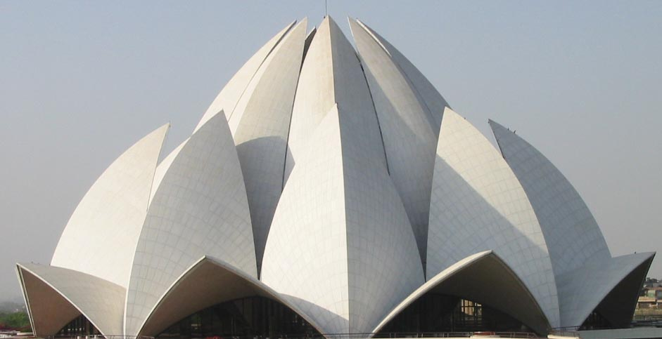 lotus temple bahai worship delhi